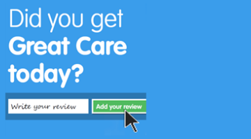 Did you get Great Care today?