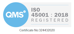 ISO 45001 : 2018 Registered